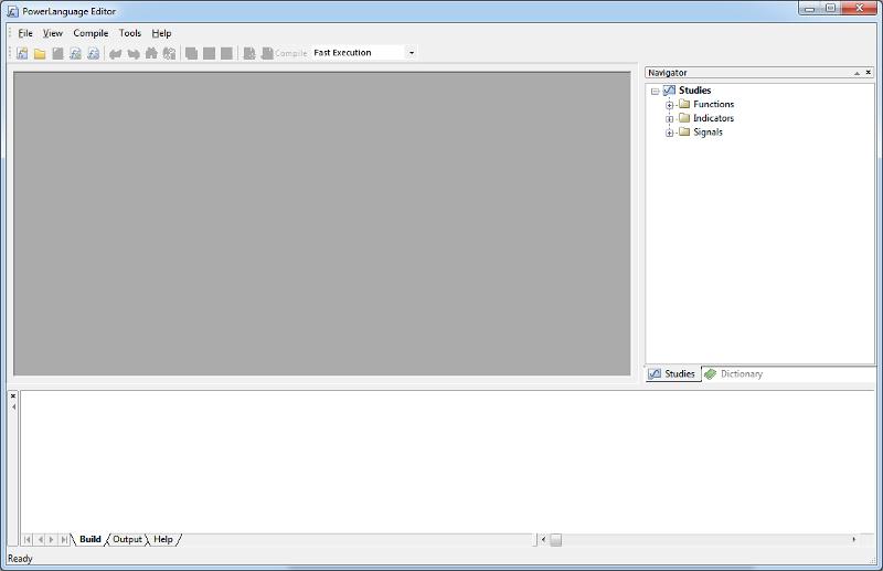 PowerLanguage Editor image