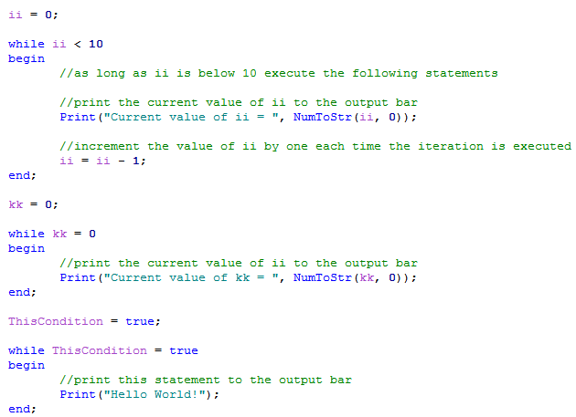 Loop example gallery