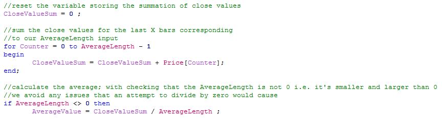 Function main code